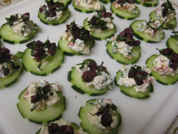 Greek Salad Bites. Photo by Charlotte J