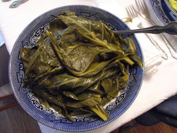 Best Ever Collard Greens. Photo by Lucky13