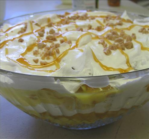 Caramel Apple Trifle. Photo by Charmie777