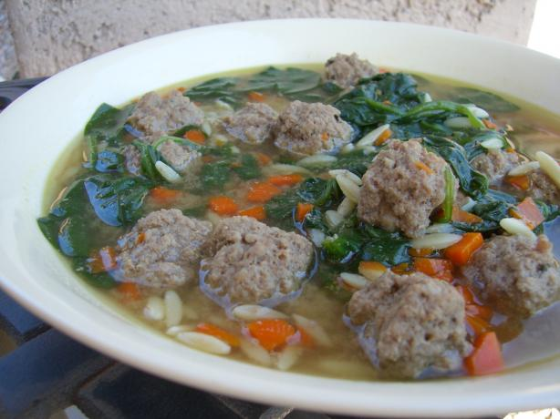 Italian Wedding Soup. Photo by Chef*Lee