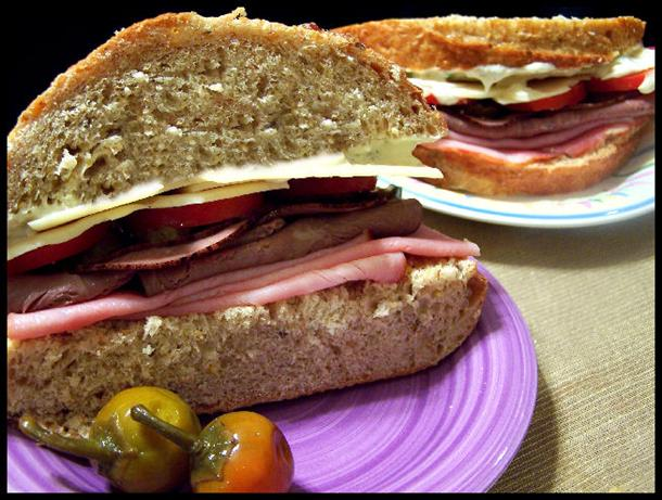 St. Louis' Amighetti Sandwich (Copycat). Photo by NcMysteryShopper