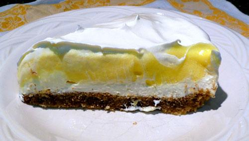 Light & Creamy Layered Lemon Cheesecake. Photo by Mikekey