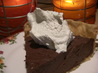 Chocolate Cream Pie. Recipe by Kittencalskitchen