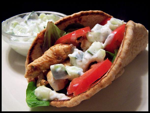 Chicken Gyros for 2. Photo by NcMysteryShopper