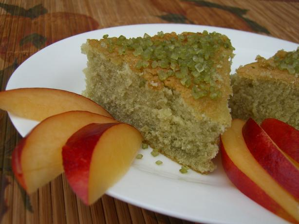 Green Tea Cake. Photo by Chef*Lee
