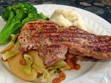 Pork Chops With Cabbage and Apples