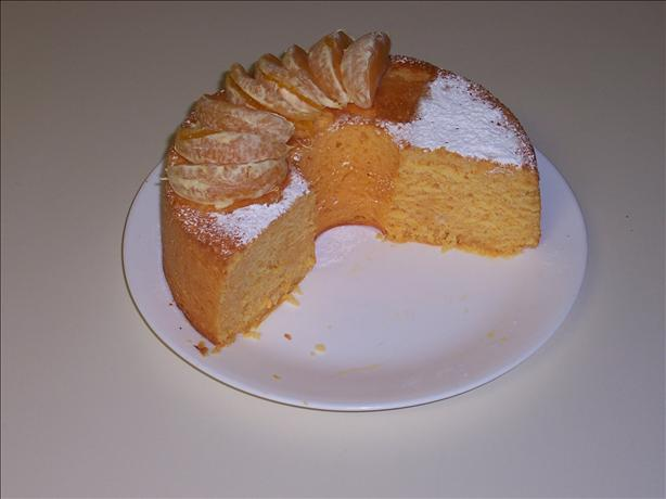 Orange Bundt Cake. Photo by Chef Booshman