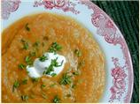 Baked Winter Squash Soup