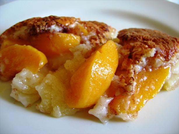 Peach Cobbler. Photo by Nafisah