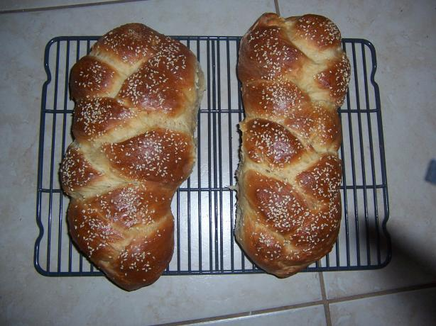 The Best Bread Machine Challah. Photo by KOSHER KOOK