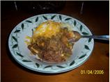 Venison ( or Ground Beef) & Potato Casserole