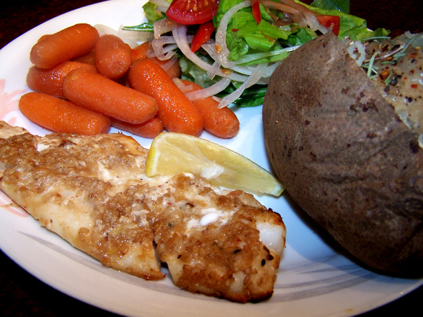 Broiled Orange Roughy - Low Fat and so Healthy!. Photo by Rita~