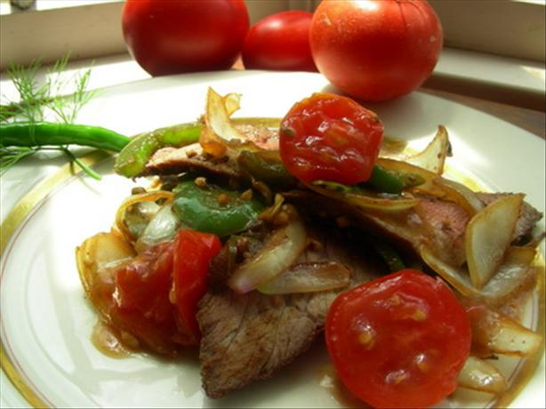 Australian Pepper Steak. Photo by Andi of Longmeadow Farm