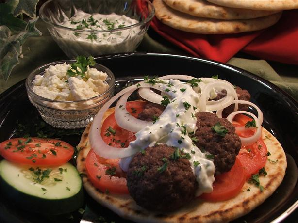 Easy Ground Beef Gyros. Photo by Wildflour