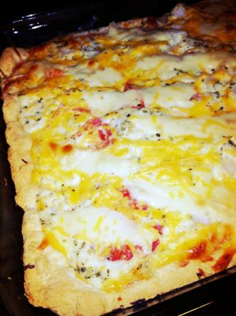 Fresh Tomato Pie. Photo by MomsTherapy