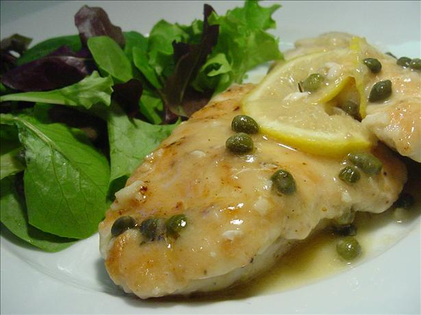 Chicken Piccata. Photo by Sharlene~W