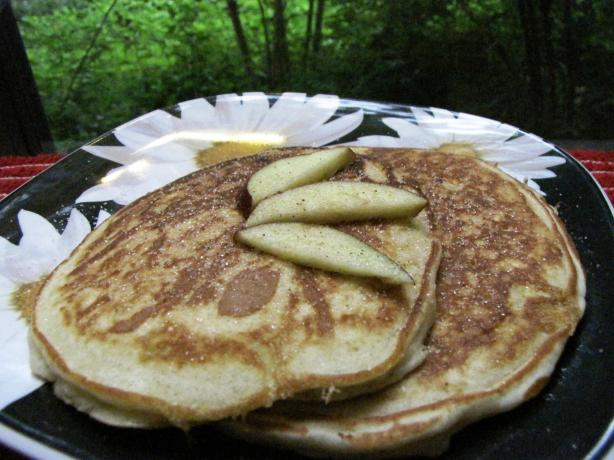 Grated Apple Pikelets. Photo by loof