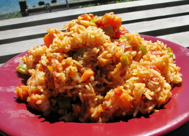 Spanish Rice. Photo by lazyme