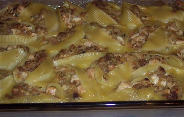 Chicken Stuffed Shells. Photo by looneytunesfan