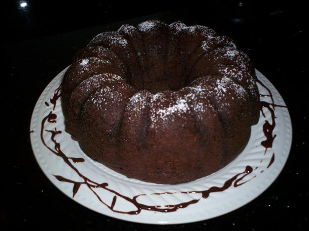 Jello Chocolate Pudding Cake. Photo by chef FIFI