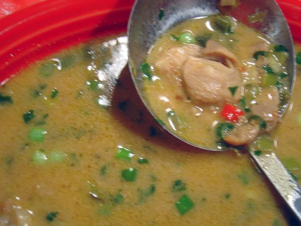 Thai Style Chicken Soup. Photo by :(