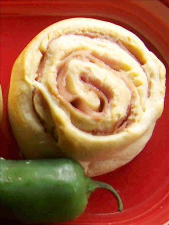 Jalapeño Ham Pinwheels. Photo by Lainey6605