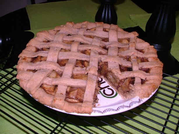 Vegan Apple Pie. Photo by VeganLady
