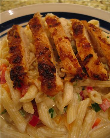 My Version of Blackened Chicken Pasta. Photo by Babs7
