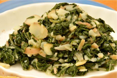 Blitva (Croatian Swiss Chard Dish). Photo by Bruce69
