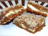 Pumpkin Cheese Praline Bars