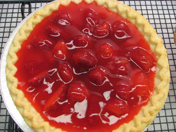 Strawberry Strawberry Pie from THE REALLY GOOD FOOD COOK BOOK. Photo by Cookin' 4 the boyz