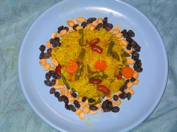 Vegetable Biryani. Photo by stingo