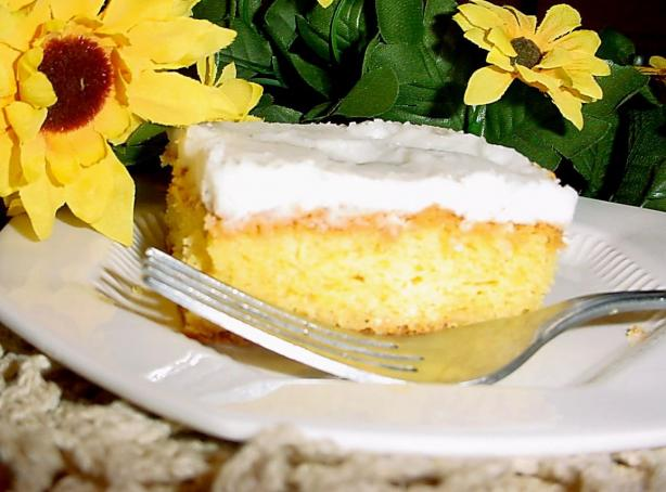 Luscious Lemon Poke Cake. Photo by True Texas