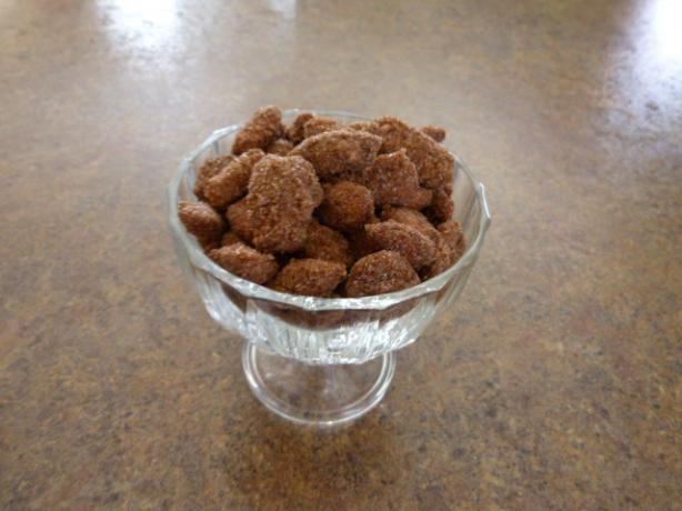Sugared Cinnamon Almonds. Photo by CarolynB13