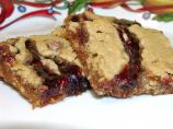 Oatmeal Peanut Butter Strawberry Bars
