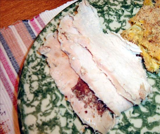 Orange-Spice Rubbed Roasted Turkey Breast. Photo by MsSally