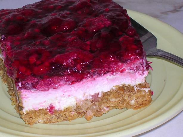 Raspberry Cream Bars. Photo by Kaarin