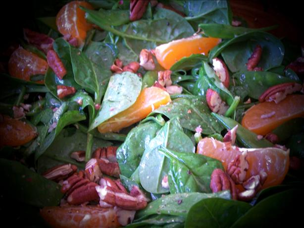 Spinach and Pecan Salad. Photo by Rita~