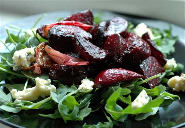 Roasted Beet Salad Recipe Blue Cheese