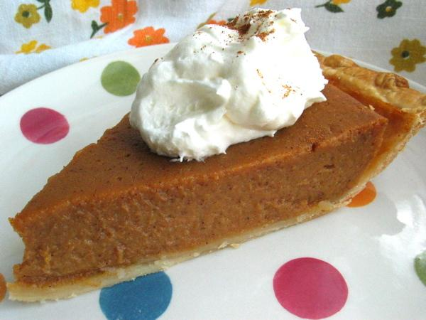 Apple Butter Pumpkin Pie. Photo by flower7