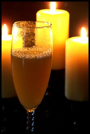 Amaretto Mimosa. Photo by NcMysteryShopper