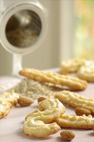 Mandelspritzgeb&auml;ck (German Christmas Almond Cookies). Photo by Thorsten