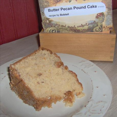 Butter Pecan Pound Cake. Photo by out of here