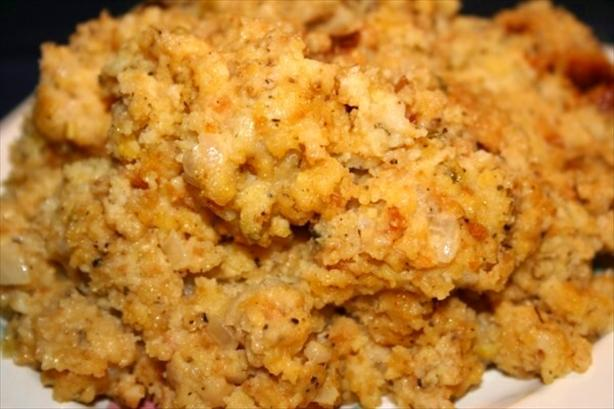 Crock Pot Cornbread Dressing. Photo by ~Nimz~