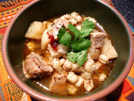 Territorial Chile Posole Stew. Photo by Mikekey