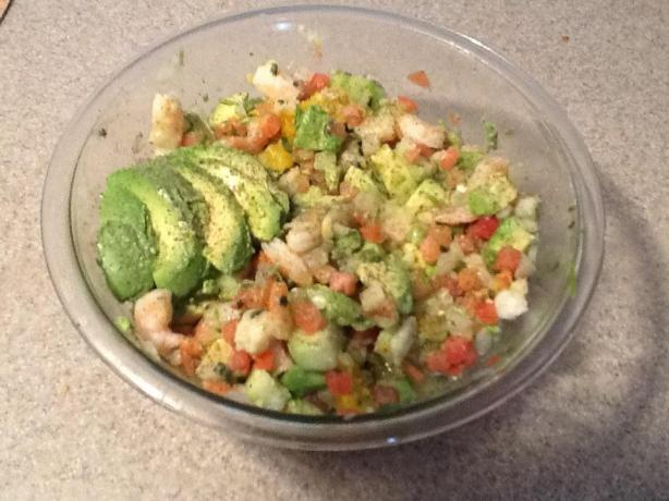 Shrimp Ceviche. Photo by Tamara Butcher