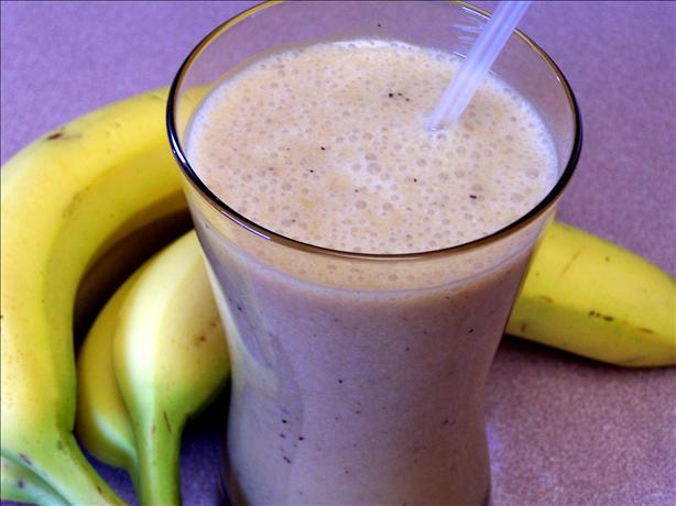 Banana Passion Fruit Smoothie. Photo by Rita~