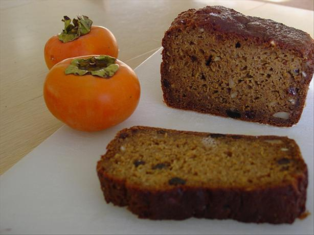 Spicy Japanese Persimmon Bread. Photo by Chez Jonny