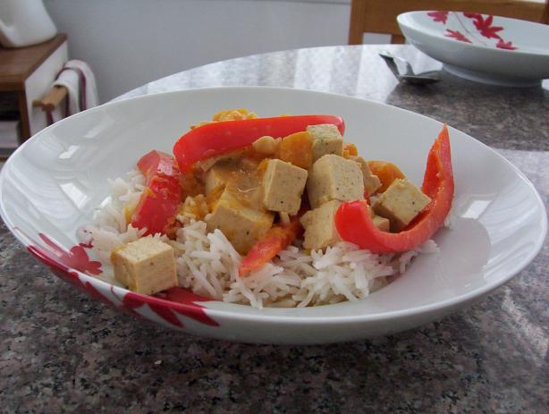 Thai Tofu and Squash Curry. Photo by lanchik in the city