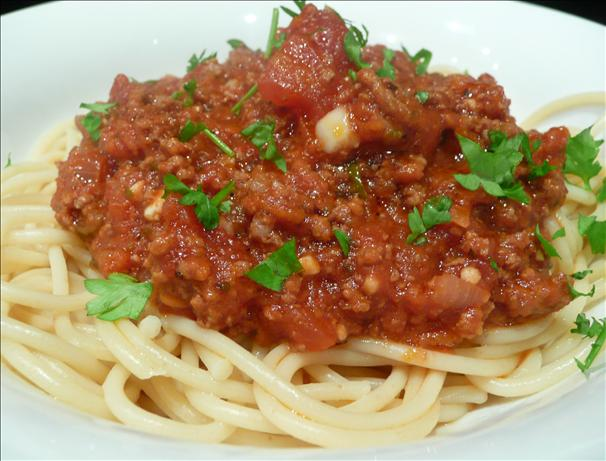 Dad&#39;s Crock Pot Spaghetti Sauce. Photo by Stardustannie